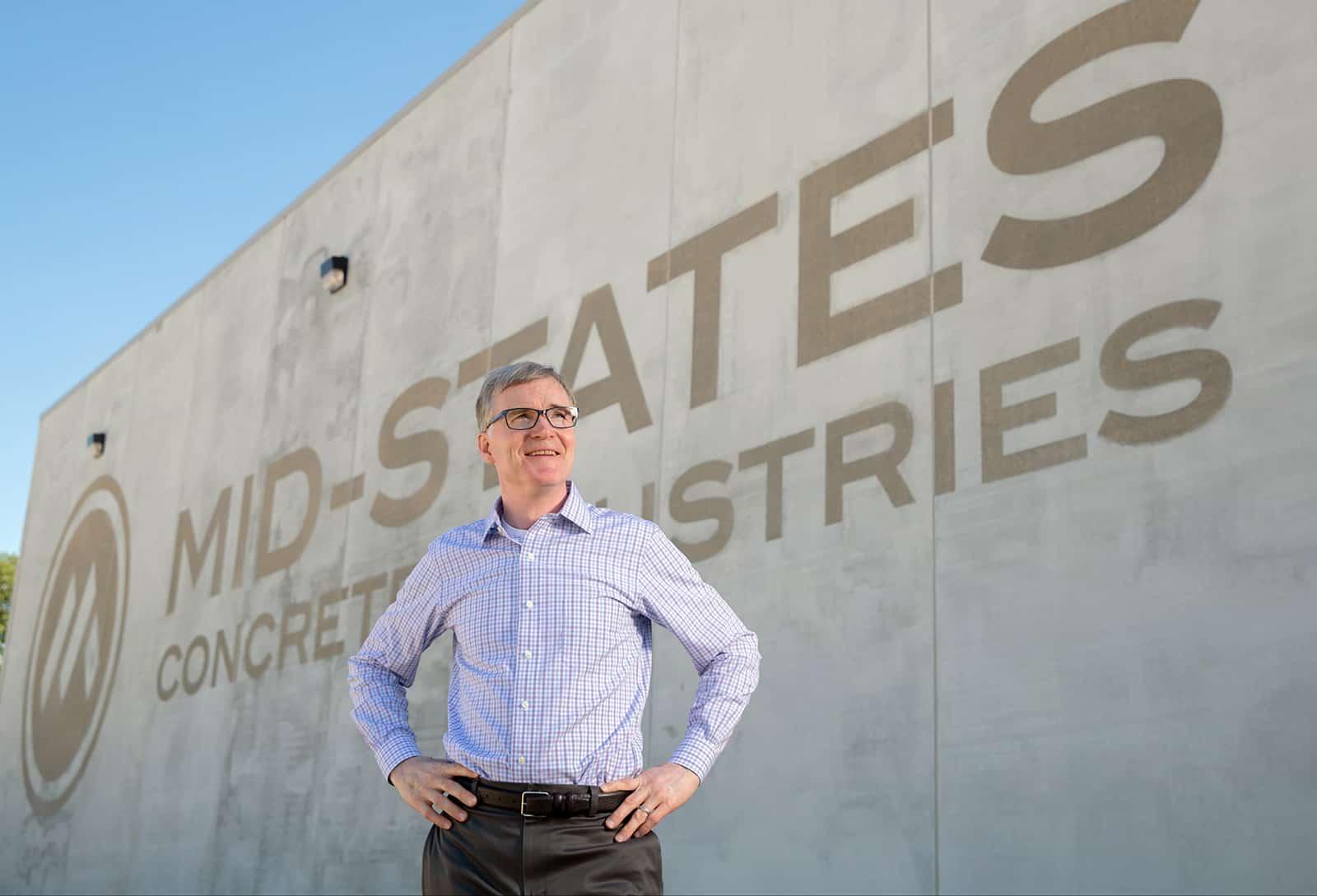 Hagen Harker, President, Mid-States Concrete Industries