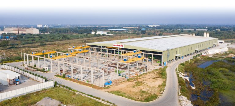 Aurobindo Realty & Infrastructure's precast stockyard and plant